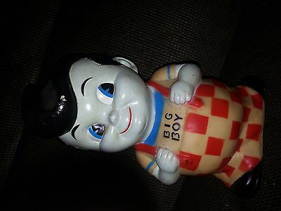 "Vtg Big Boy Money Bank missing  Stopper Plug 8.5"" x 5"" x 4"""