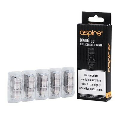 AUTHENTIC Aspire Nautilus BVC Coils 0.7 (1pk/5coils) US Seller