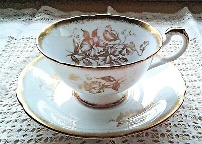 Paragon Cup And Saucer - Vintage Eggshell Blue