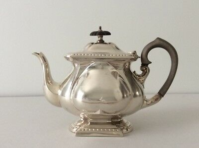 Antique English Sterling Silver Teapot / 357g