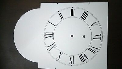Grandfather clock metal dial, 400mmx280 unused