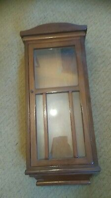 Wall Clock case 750mm x 340mm good condition