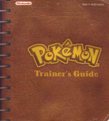 Pokemon Trainers Guide Spieleanleitung