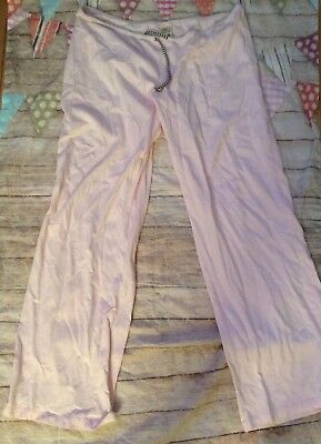 Old Navy Maternity Pajama Pants Pink Size Large Cozy Sleep Bottoms Only