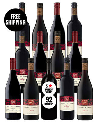 Grant Burge Red Mix + Bonus (13 Bottles)