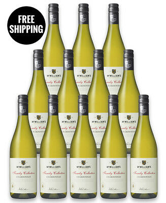 Mcwilliam's Family Collection Chardonnay 2017 (12 Bottles)