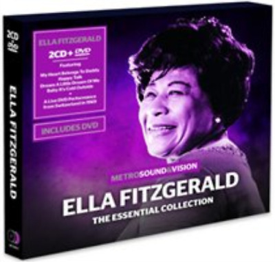 Ella Fitzgerald-The Essential Collection  (UK IMPORT)  CD with DVD NEW