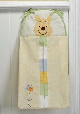 New Disney Baby Peeking Pooh Diaper Stacker Storage Infant Nursery Unisex Decor
