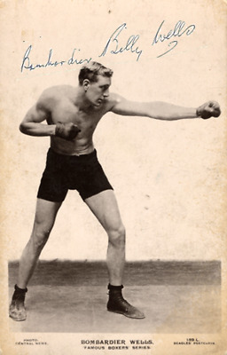 British Heavyweight Boxing Job Lot Of 10 Reprint Autograph Photographs Postcards