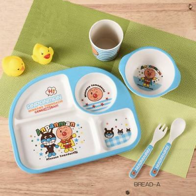 Baby Toddler Kids Table Food Tray Plate Bowl Dish Feeding Bamboo Fibre BPA Free