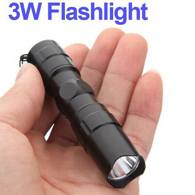 Super Bright Outdoor Waterproof LED Flashlight Torch Light Bulb Lamp 3W