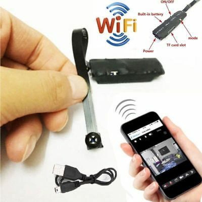 WIFI 1080P HD Spy Hidden IP Camera Wireless Module DV DVR NVR Nanny Cam HOT