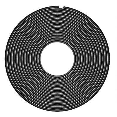 Rubber Edge Doors Protection Car Styling Strips Moldings - Black (5m)
