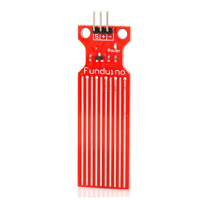 Water Sensor Working with Official Arduino Products Red Water level measurement