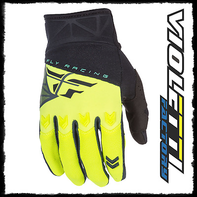 Fly F16 Guanto Cross  Nero Giallo Fluo Bimbo Cross Enduro