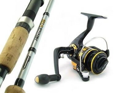 SAMBO MENACE 7'0 6kg Carbon Fibre Spinning Fishing Rod and Reel Combo Bream