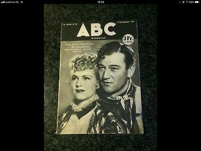 Edgar P. Jacobs - Magazine petit format ABC - Illustration de Jacobs - RARE