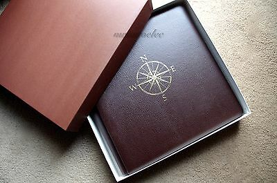 Creative Memories Travel Brown Original 12x12 album in Box w natural pages BNIB