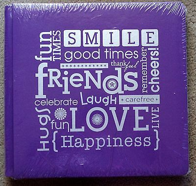 Creative Memories True 12x12 Purple Friends Album / Coverset