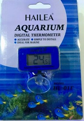 Aquarium Submersible Digital Battery LCD Thermometer Fits: Juwel Biorb Tetra UK