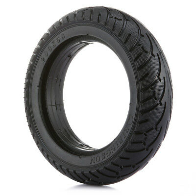 8-Inch 200 x 50mm Car Rear Solid Tire for Electric Scooter for Universal Black