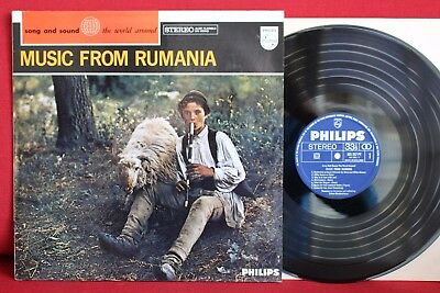 Music from RUMANIA; Recorded in Rumania by Deben BHATTACHARAYA; LP Philips, NM