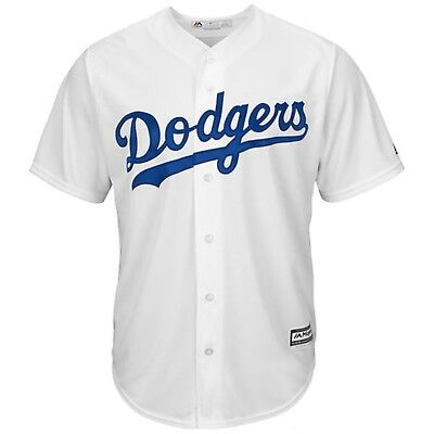 Los Angeles Dodgers Majestic Athletic Cool Base Home Baseball Jersey