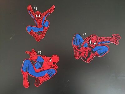 Sew on & iron on embroidery patches(Spider-man)