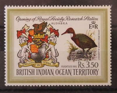British Indian Ocean Territory 1971 Opening of Royal Socierty Research Station