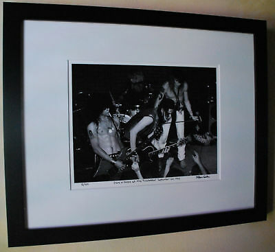 Guns N Roses Rocket Queen Slash Axl Rose fine art photo signed 13/100 Troubadour