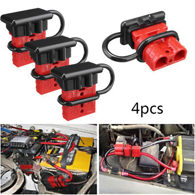 4x 50A Battery Quick Connect Disconnect Tool Winch 4x battery quick connect disconnect tool winch electrical wire
