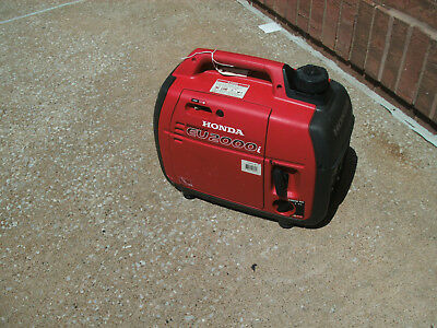 Honda EU2000i  3.5 HP 2000 Watt Portable Inverter Generator  QUIET LOCAL PICK UP