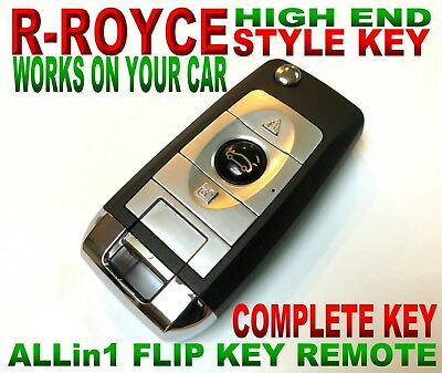 R.R. STYLE FLIP remote for 04-08 ACURA TSX KEYLESS ENTRY immobilizer ALARM fob