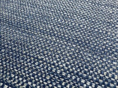 Thibaut Woven Crypton Tweed Upholstery Fabric- Mosaic / Blue 2.30 yd W80490