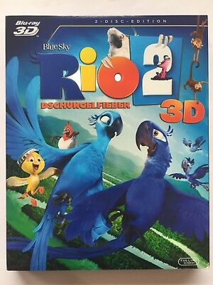 Blu-ray Disc RIO 2 (3D-Fassung, Animation / Trickfilm)