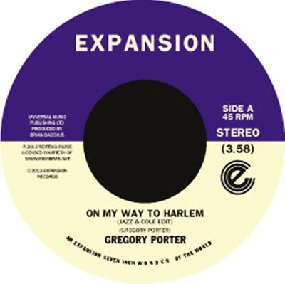 Porter, Gregory - On My Way To Harlem/1960 What Vinyl 7Inch Expansion NEU