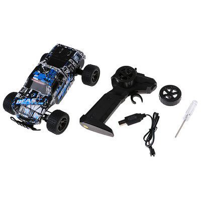 1:20 2.4Ghz Blue Radio Remote Control Off-Road Truck 15km/h Brushed Motor