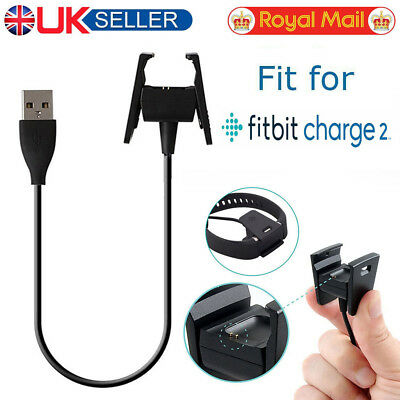 USB Charging Cable Dock Charger for Fitbit CHARGE 2 Fitness Tracker Wristband UK