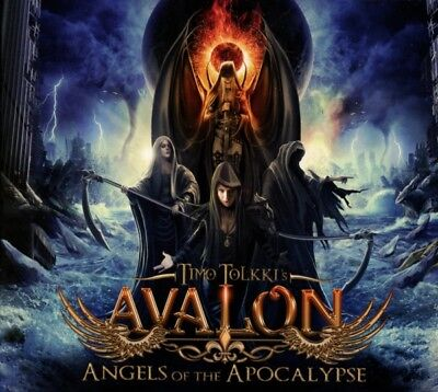 Timo Tolkkis Avalon - Angels Of The Apocalypse (Digipak) CD Frontiers NEW