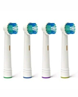 4 pcs Electric Toothbrush Replacement Heads Compatible With Oral B Braun Model