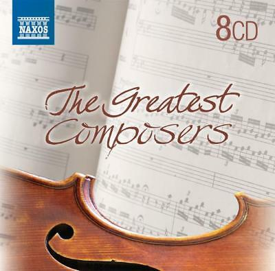 Various - The Great Composers CD (8) Naxos NEW