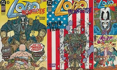 LOBO INFANTICIDE #1-4, Complete Set, Keith GIFFEN Covers, Nice! NM New (1992) DC