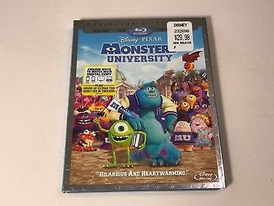 Monsters University (Blu-ray + DVD /Collectors Edition ) Disney, Pixar
