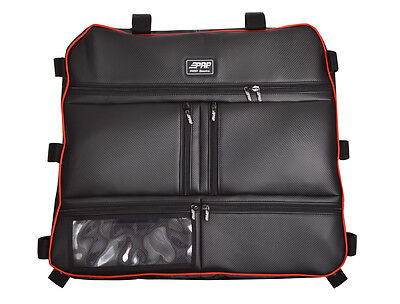 PRP Seats Overhead Roof Storage Bag for Polaris RZR XP 1000/ 900 S, BLACK Piping