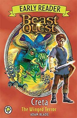 Beast Quest: Early Reader Creta the Winged Terror by Blade, Adam | Paperback Boo