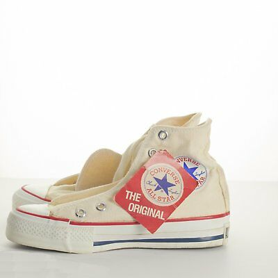 Converse Sneakers Vintage NWT Chuck Taylor All-Star Shoes Made USA High Sz 2.5