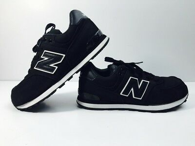 quality design 81018 5d4a5 NEW BALANCE NB 574 CLASSIC Black CASUAL SHOES KL574HBG Size 5.5 EUC Youth  Boys