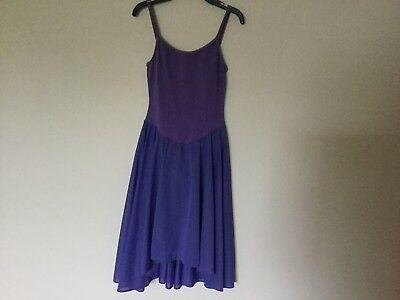 Motionwear Skirted Camisole Leotard Dance Dress Size Small Adult