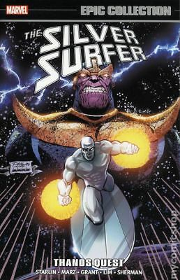 Silver Surfer Thanos Quest TPB (Marvel) Epic Collection #1-1ST 2018 NM