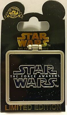 HAN SOLO The Force Awakens Disney Star Wars Frame Pin Limited Edition 10000